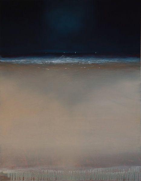 De vloedlijn aan het Stortemelk (2) van Bert Oosthout