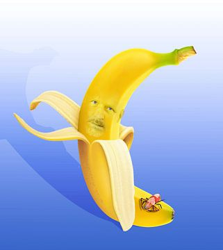 eet gezond, eet een banaan sur Dray van Beeck