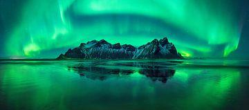 Stokksnes aurora van