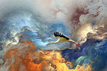 boven de wolken van Marion Tenbergen