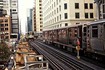 Métro de Chicago sur Hans van Oort