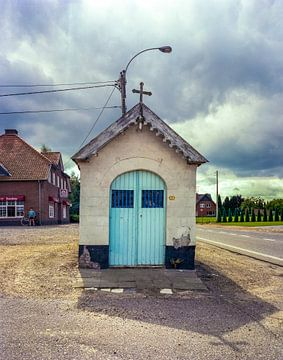 Landschap Belgie van Ruurd Dankloff