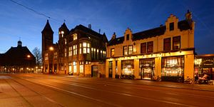 Nobelstraat in Utrecht met café Florin