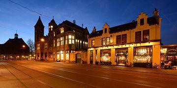 Nobelstraat in Utrecht met café Florin sur Donker Utrecht