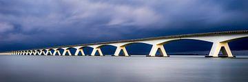 Zeeland Brücke Panorama von Vincent Fennis