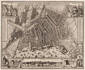 Amsterdam, Karte 1643