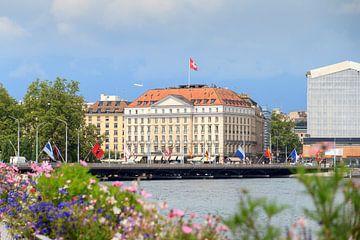 Genève Zwitserland stadsgezicht von Dennis van de Water