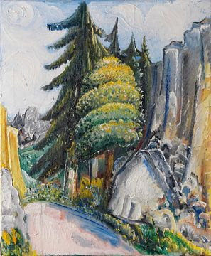 Alblandschaft, Paul Kleinschmidt,  1932 von Atelier Liesjes