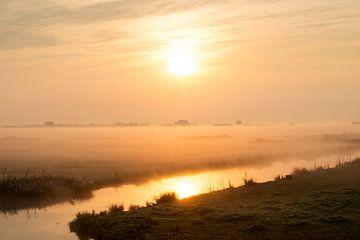 Zonsopkomst in Noord-Holland von Keesnan Dogger Fotografie