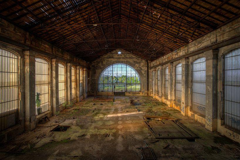 Schöner verlassener Bergbaustandort von Wesley Van Vijfeijken