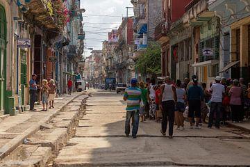 Streetlife Havanna von Dennis Eckert