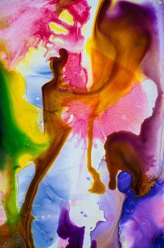 Diverse kleuren inkt