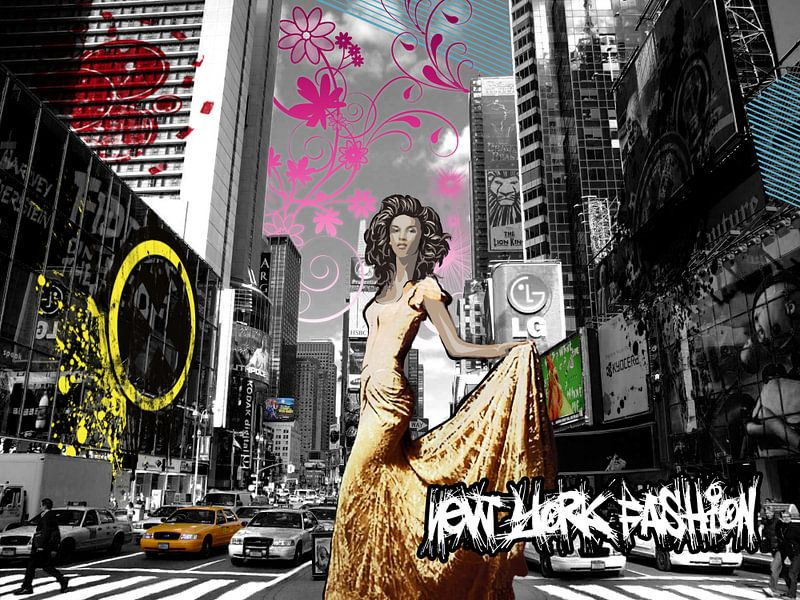 New York Fashion van Marjolijn Vledder