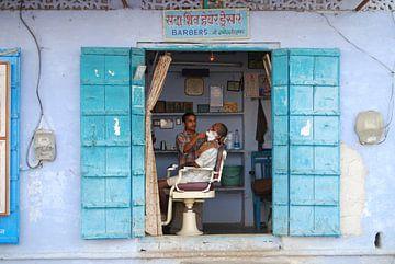 Indian Friseur  von Onne Kierkels