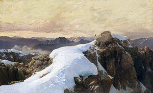 Morgen auf Bergeshöhe, EDWARD THEODORE COMPTON, 1893