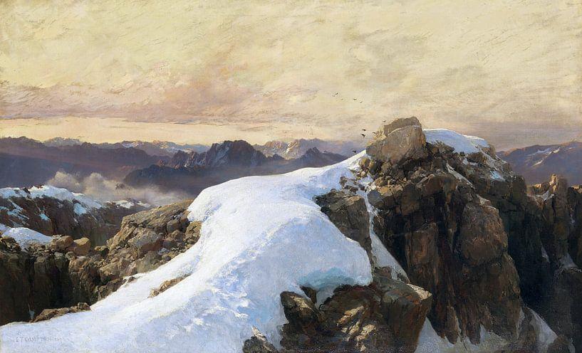 Morgen auf Bergeshöhe, EDWARD THEODORE COMPTON, 1893 von Atelier Liesjes
