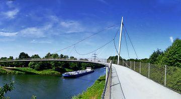 Rhein Herne Kanal Panorama van Edgar Schermaul