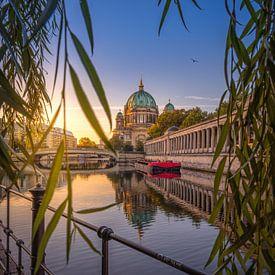 Vroeg in de ochtend Vibes in Berlijn van Iman Azizi