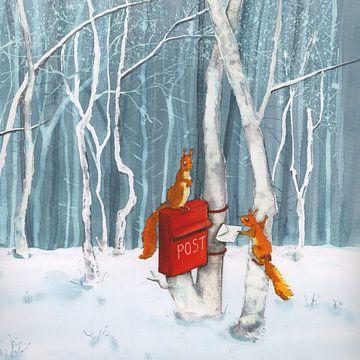 Poste d'écureuil