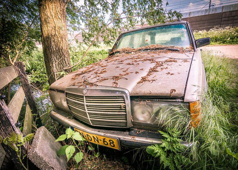 Alte Autos. Mercedes Benz von Danny den Breejen