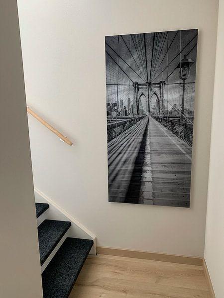 Kundenfoto: NEW YORK CITY Brooklyn Bridge | Panorama von Melanie Viola