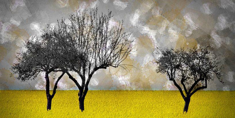 Digital-Art Landscape van Melanie Viola