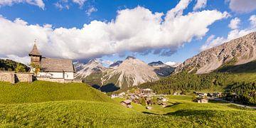 Arosa in Zwitserland van Werner Dieterich