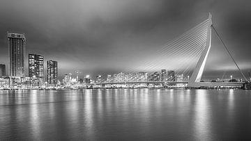 Skyline von Rotterdam von Mark Bolijn