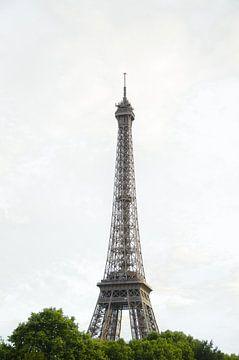 Eiffelturm Paris von der Seine aus von Sander Jacobs