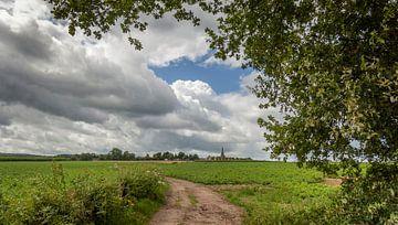 Kerkdorp Vijlen gelegen tussen de Limburgse Heuvels