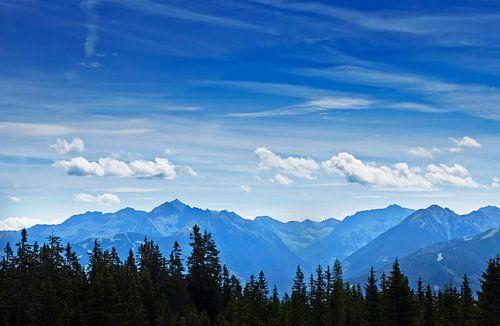 Blik over de Alpen