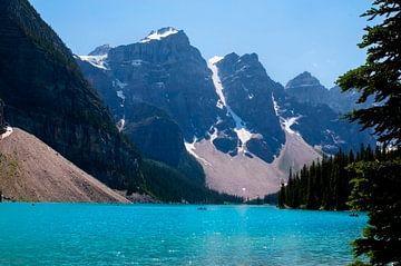 Moränensee im Banff-Nationalpark, Kanada von Anita Hermans