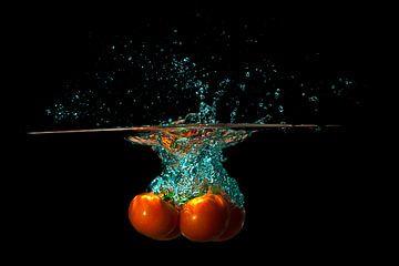 TomatenSplash van Hans van der Grient