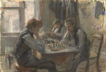 Schachspieler, Isaac Israëls