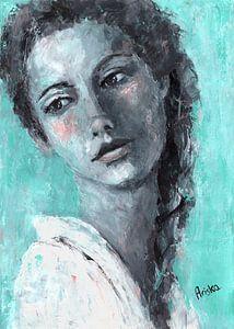 Joanne van Flow Painting