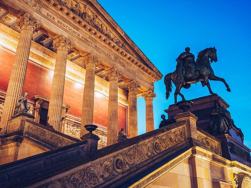 Berlin – Alte Nationalgalerie van Alexander Voss