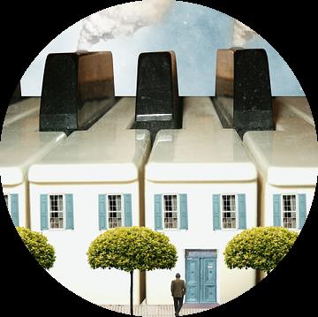 Het huis van de pianist van Harald Fischer