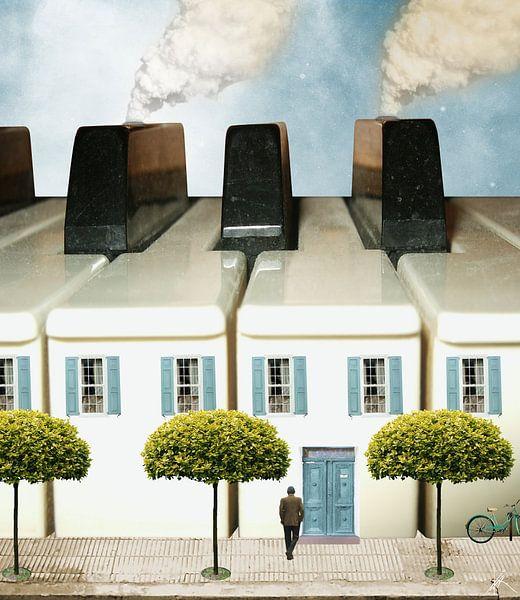 Das Haus des Pianisten von Harald Fischer