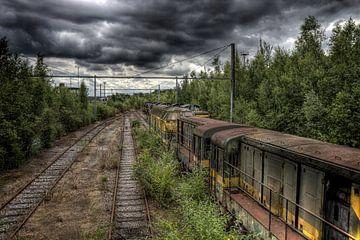 Verlassener Rangierbahnhof Urbex von Jack Tet