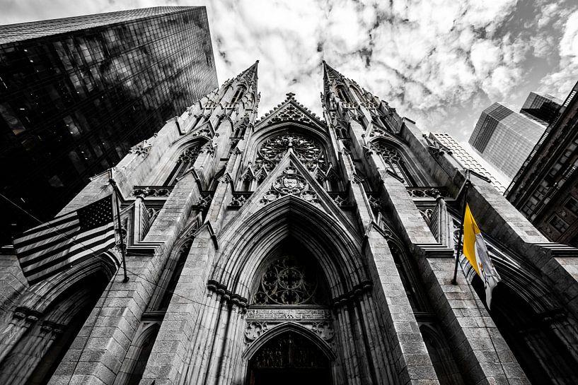 Saint Patricks Cathedral, New York City van Eddy Westdijk