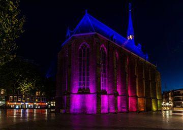 Verlichte Kerk van Jamie Lebbink