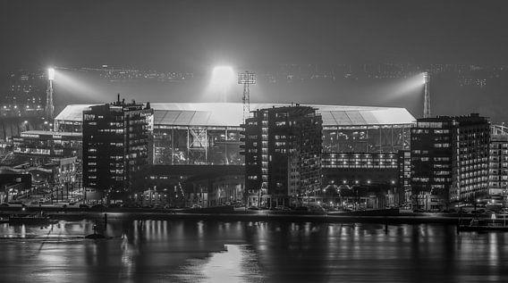 """Feyenoord Stadion """"De Kuip"""" Luchtfoto 2018 in Rotterdam van MS Fotografie"""