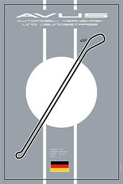 Avis Berlijn Racetrack van Theodor Decker