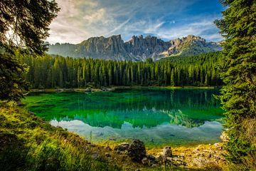 See in den Dolomiten von Kevin Baarda