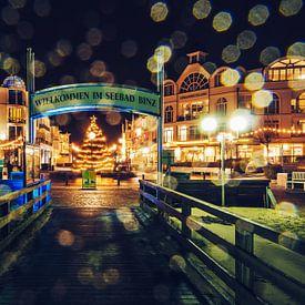 Ostseebad Binz im Winter von Alexander Voss