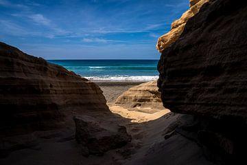 Door de zandsteen naar de zee van Christian Klös