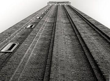 Turm auf der quadratischen Venetia San Marco von Ed Dorrestein