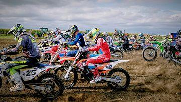 Motocross von Arie Bon