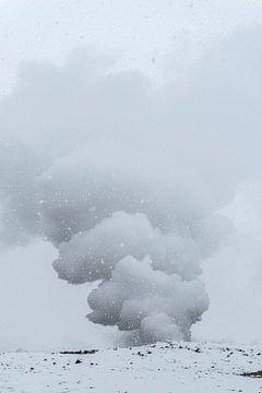Gunnuhver's Dampfwolken von Gerry van Roosmalen
