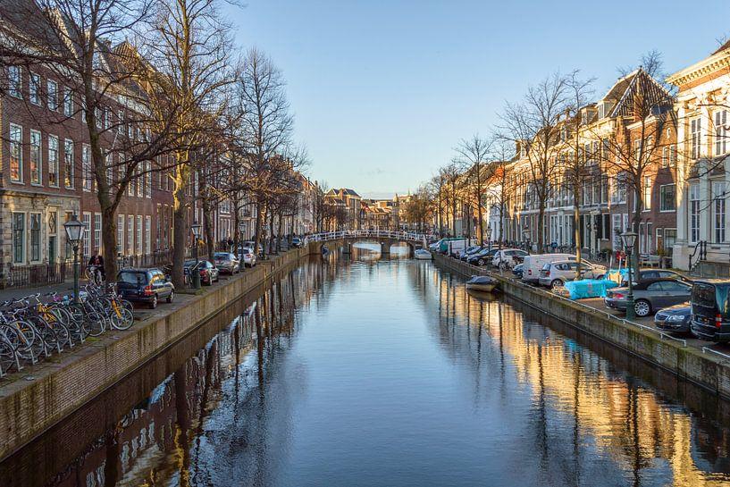 Rapenburg in Leiden van Richard Steenvoorden